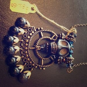 Jewelry - Pirate skull necklace ⚡SOLD⚡
