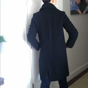 Cole Haan Jackets & Coats - Black camel hair coat 3