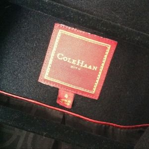 Cole Haan Jackets & Coats - Black camel hair coat 4