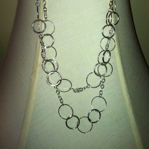 DOUBLE-CIRCLE CHAIN NECKLACE