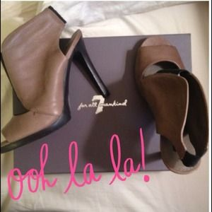 7 for all Mankind Shoes - 7FAM booties & VS capris!