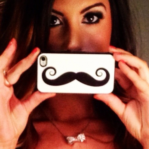 Accessories - Mustachio iPhone 4S Case 3