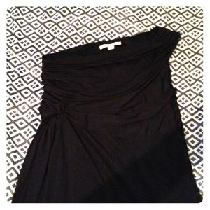 Black off shoulder party dress.  New with tags.