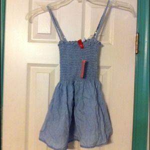 BNWT H&M Blue shirt with adj. straps sz S
