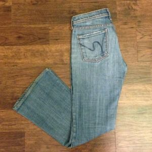"Citizens of Humanity Denim - Gently used Citizens ""Ingrid"" flair jeans"