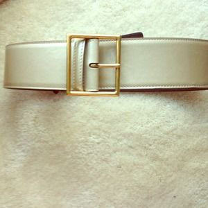 Yves Saint Laurent Patent Leather Belt
