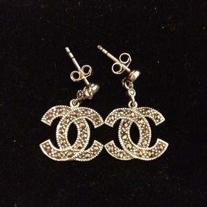 CHANEL Jewelry - **Sold***@candzmul**Chanel inspired earrings