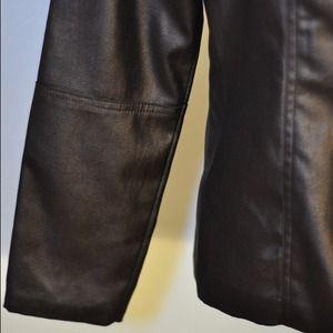 Jackets & Coats - Faux Leather Jacket