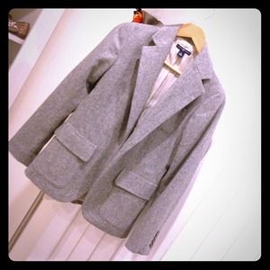 GAP wool blazer size small in light gray!