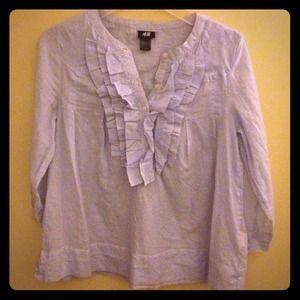 H&M Tops - H&M ruffle blouse