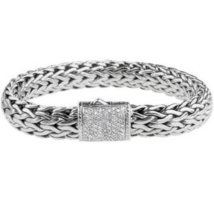 John Hardy Jewelry - John Hardy diamond clasp bracelet.