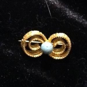Jewelry - Greek key pin. PRICE JUST REDUCED