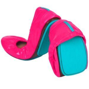 Tieks Shoes - Tieks. Bright pink, fabulous.