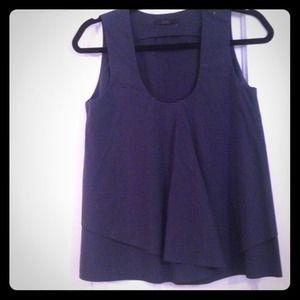 Navy blue Cos shirt