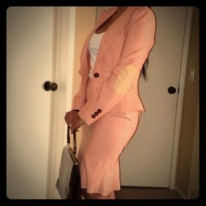 Reserved for alchimica1-Coral Tweed Suit