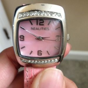 Accessories - Brand new pink realities watch.