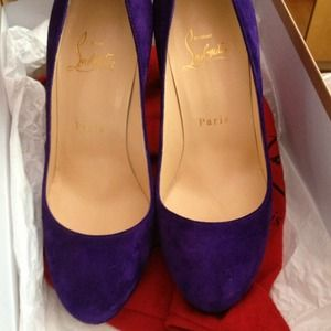 Christian Louboutin Shoes - 🌟SOLD🌟Louboutin FILO 120mm in Violette