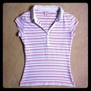 Guess Tops - GUESS STRIPED POLO