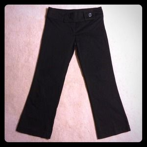 Zara Pants - ZARA BLACK 3/4 LENGTH PANTS