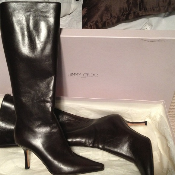 580dc57991a Jimmy Choo Shoes | Never Worn Classic Peony Boot | Poshmark