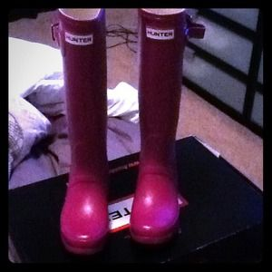 Hunter Boots Boots - Violet hunter boots/for Joy