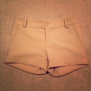 Pants - Tan Dress Shorts