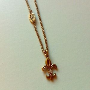 Juicy Couture Jewelry - Fleur De Lis Charm Necklace