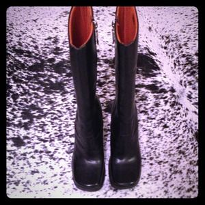 To the Max Boots - To the Max!! Black leather knee boots