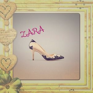 Zara Shoes - Embellished Zara Heels