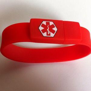 Jewelry - USB medical bracelet