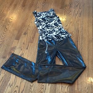 Hot Topic Faux Leather pants