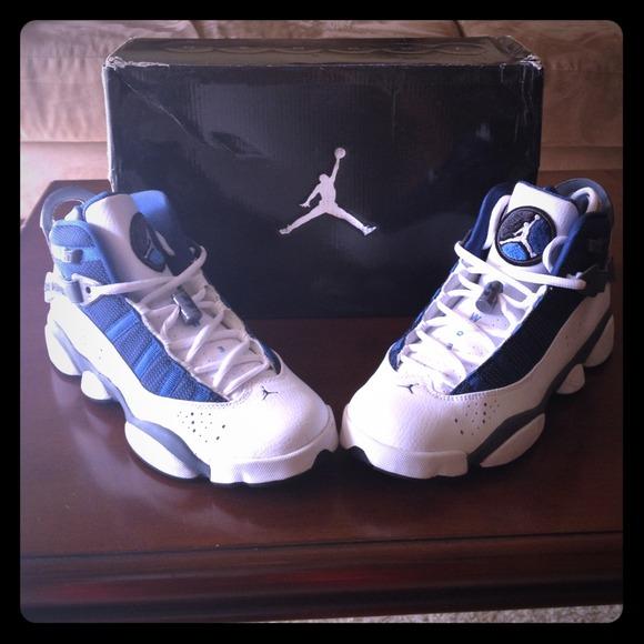 huge discount 41f03 ccaaf Jordan's 6 Rings - Flint Grey