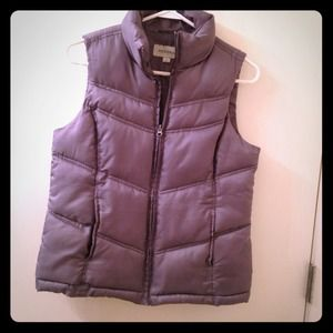 Merona Jackets & Coats - ⚡SOLD⚡Slate gray puffy vest 1