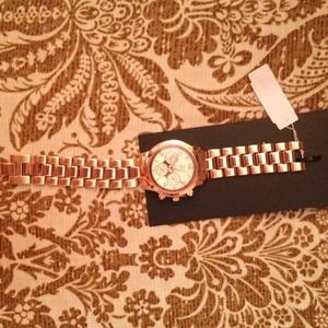 Accessories - Rose gold watch NWT