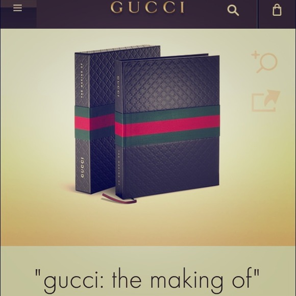 Gucci Other Authentic Gucci Coffee Table Designer Book Poshmark