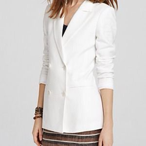 Not available. Theory white/cream blazer.