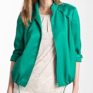 Corsica weave bomber jacket