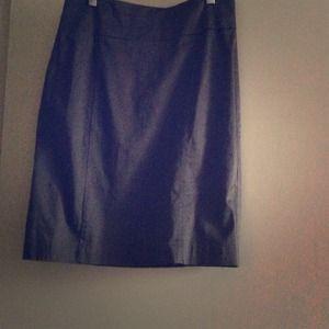 Smoke grey H&M long pencil skirt