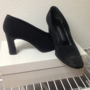 Evan picone blk shoes