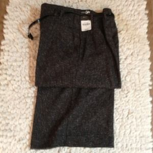 Pants - Grey Tweed Dress Pants-NWT