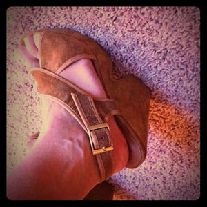 Urban Outfitters Shoes - Brand new never worn!  Tan sandals
