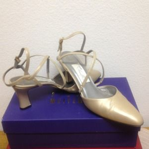 Shoes - Gold Amalfi straps