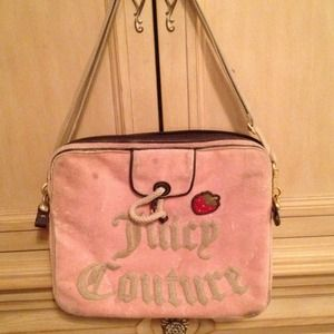 Juicy couture computer case