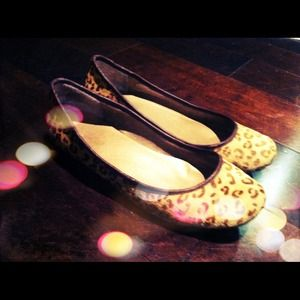 Mee Too Shoes - Cheetah print flats