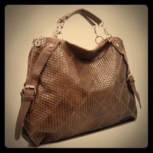 Brown Designer Inspired Handbag