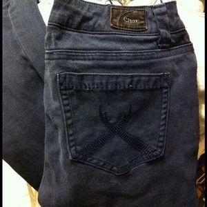 Denim - Jeans Sz1 navy,been worn few times but still LN