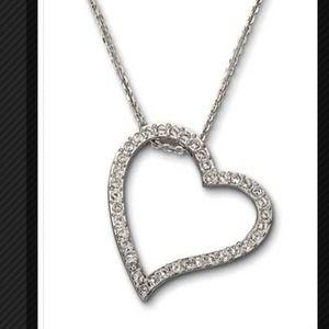 swarovski Jewelry - Swarovski love pendant