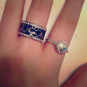 Coach Jewelry - ONE COACH RING AVAILABLE