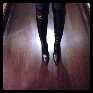 Reduced . . . Over the knee boots