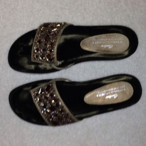 Donald Pliner Couture sparkle sandals.